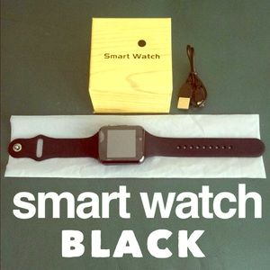 🆕Unisex Smart Watch Black⭐️